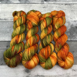 """Leaf Peeping"" Solo Venture Light Fingering Weight Yarn"