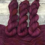 "Day 14 - ""Mulled Wine"" Hand Dyed Hitchhiker Sock Yarn (31 Days of New Colorways)"