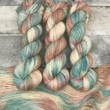 "Day 23 - ""Blythe"" - Hand Dyed Hitchhiker Sock Yarn (31 Days of New Colorways)"