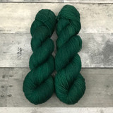 """Scotch Pine"" Hand Dyed Hitchhiker Sock Yarn"