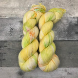 """Mojito"" Hand Dyed Hitchhiker Sock Yarn"