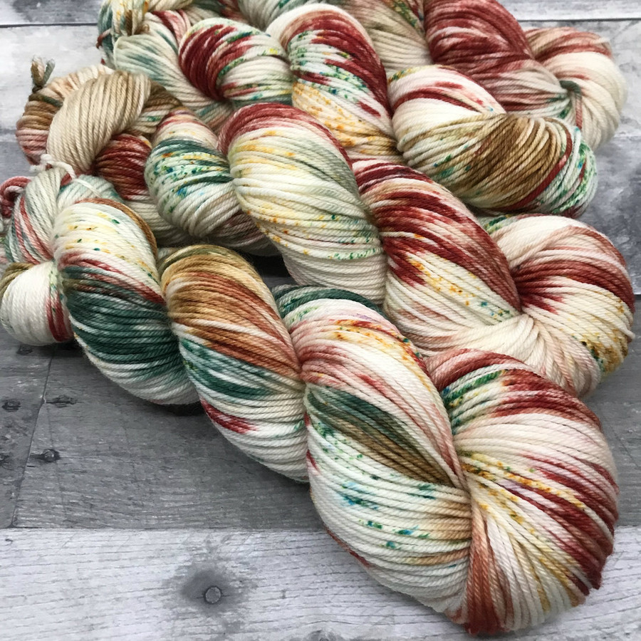 """""""Iced Sugar Cookie"""" Hand Dyed Expedition DK Yarn"""
