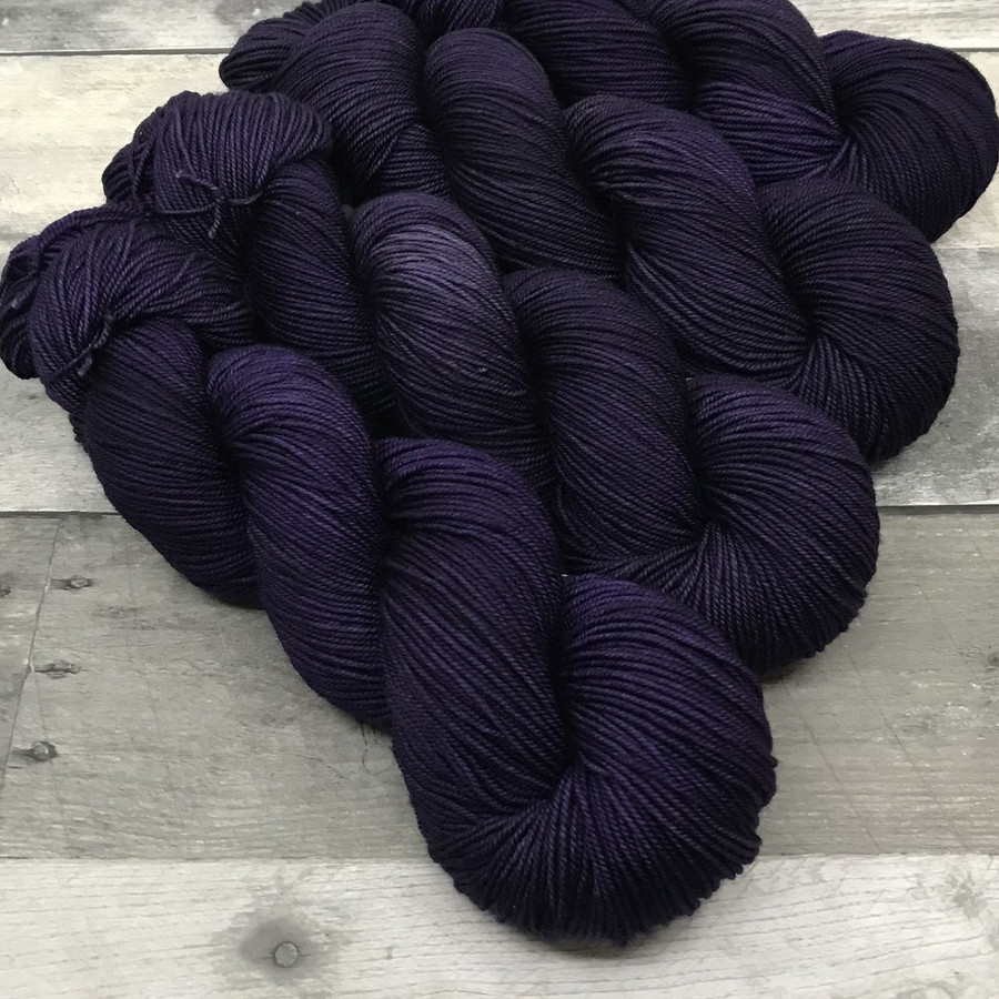 """""""Shrinking Violet"""" Hand Dyed Yarn - Dyed to Order"""