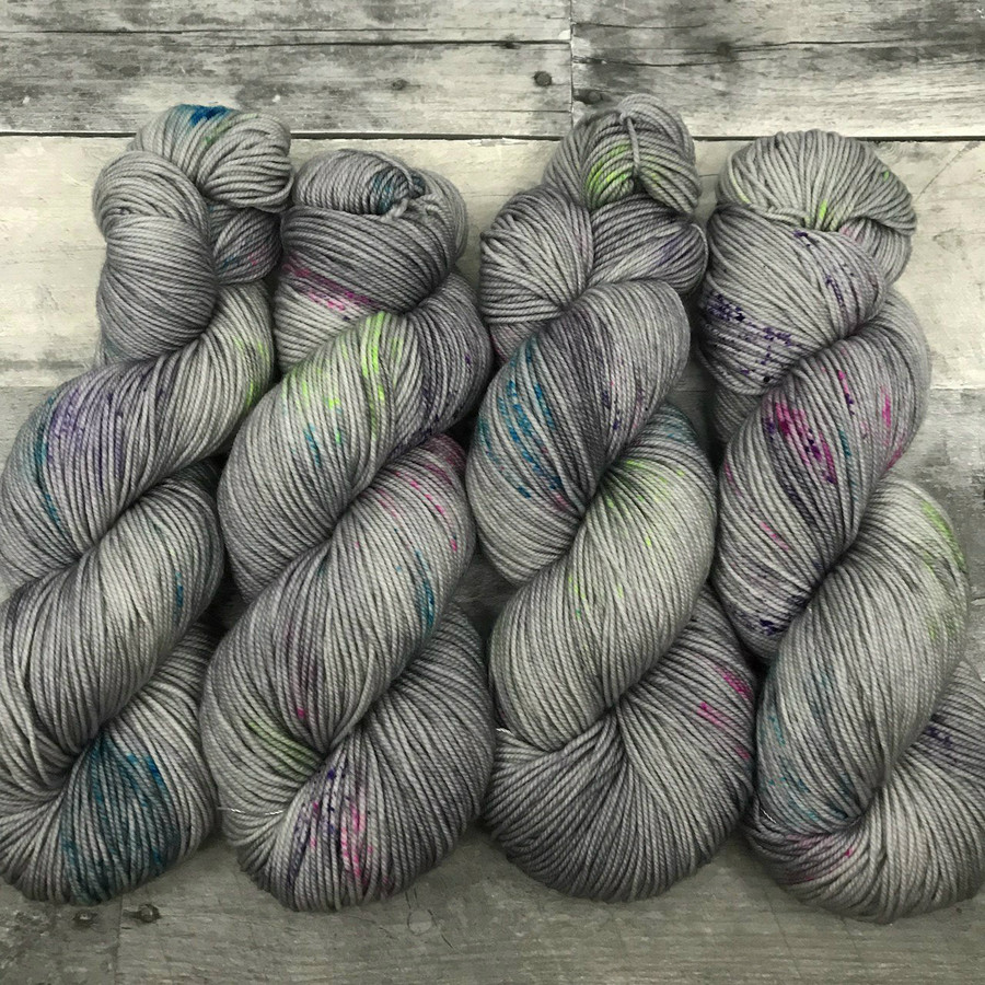 """""""Static Noise"""" Hand Dyed Yarn - Dyed to Order"""