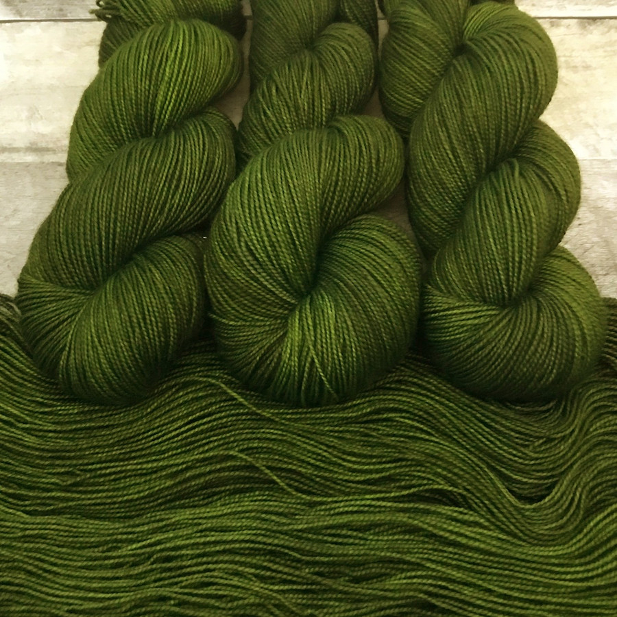 "Day 03 - ""Villainous"" Backcountry Sock Weight Yarn (31 Days of New Colorways)"