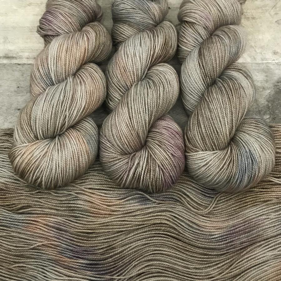"""Day 04 - """"Quarry"""" Backcountry Sock Weight Yarn (31 Days of New Colorways)"""