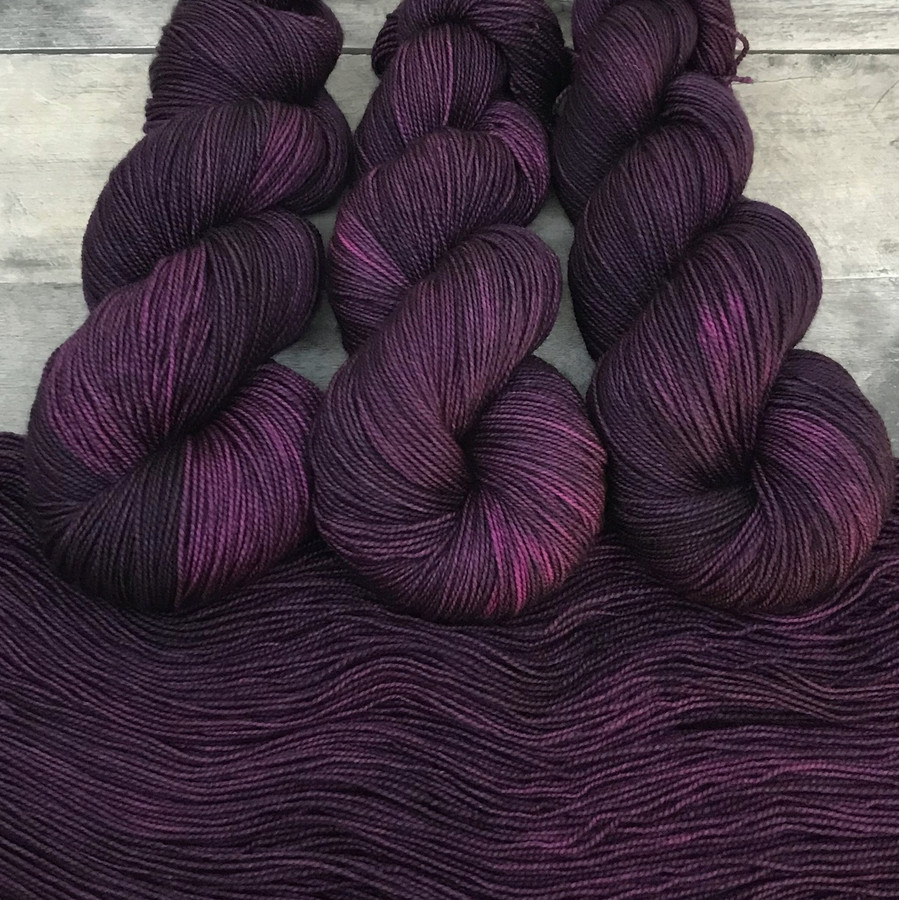 """Day 09 - """"Wild Child"""" Backcountry Sock Weight Yarn (31 Days of New Colorways)"""