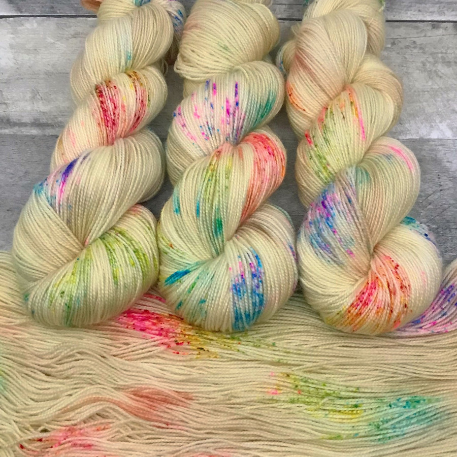 """Day 17 - """"Confetti Cake"""" Backcountry Sock Weight Yarn (31 Days of New Colorways)"""