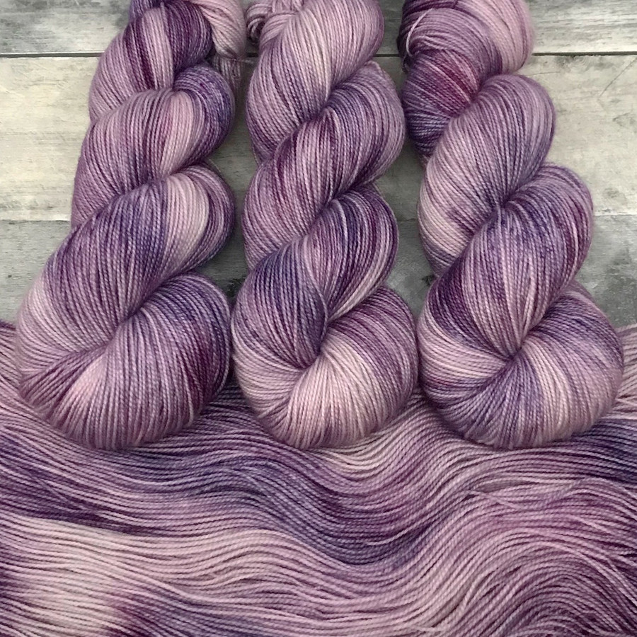 """Day 26 - """"Huckleberry Shake"""" Backcountry Sock Weight Yarn (31 Days of New Colorways)"""
