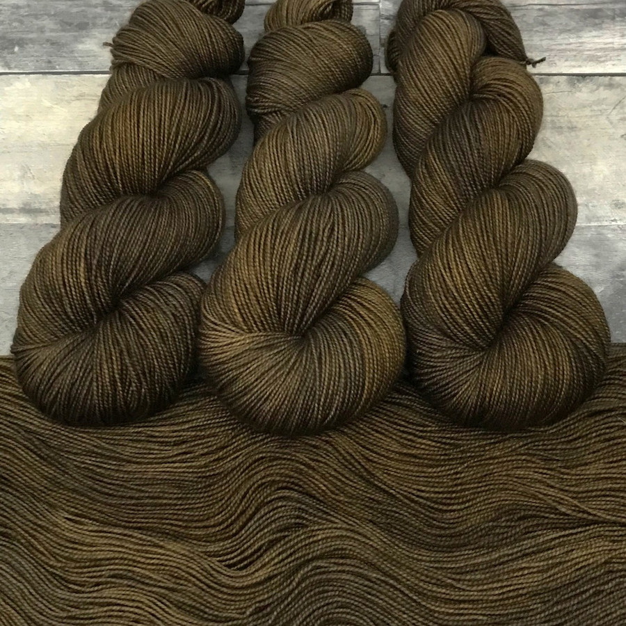 "Day 27 - ""Age of Bronze"" Backcountry Sock Weight Yarn (31 Days of New Colorways)"