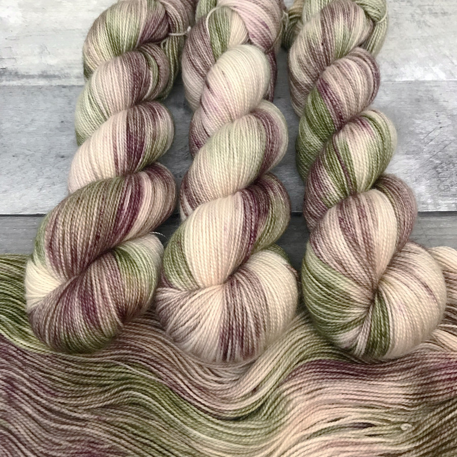 """""""Garden Path"""" Hand Dyed Yarn - Dyed to Order"""
