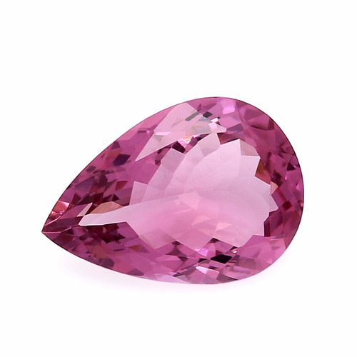 Tourmaline  Pear Faceted 10 x 14 mm  4.40 Carats GSCTO226