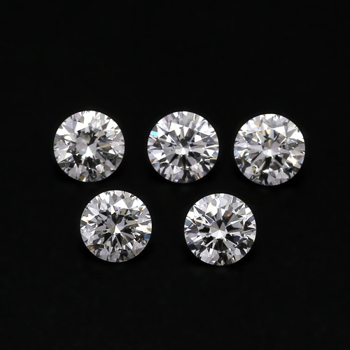 Natural Diamond GH VS Round   4 x 4    GSCND0003