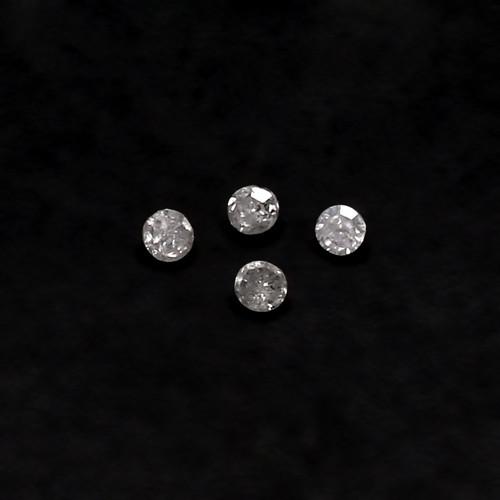 Natural Diamond Round  Single Cut  1mm  GSCND004