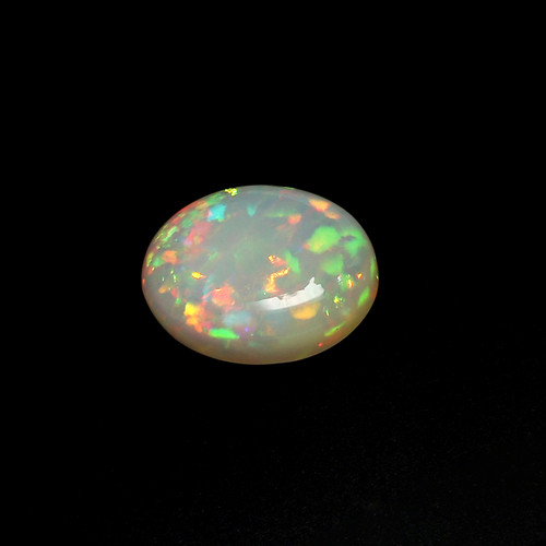 Ethiopian Opal Oval Cabochon 11.20 Carats  15.80X20.30X7 mm GSCEOP018