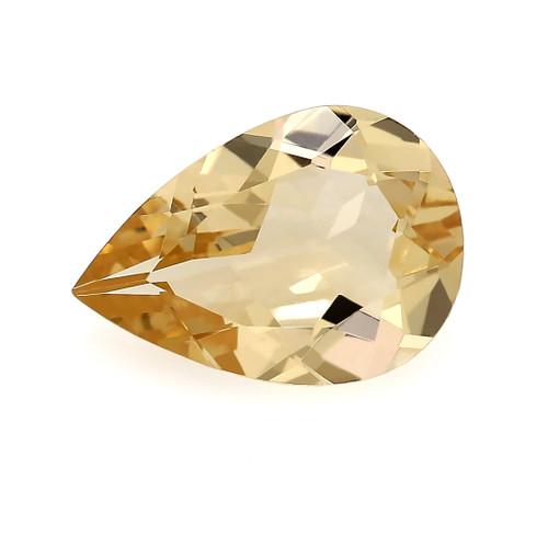 Peach Morganite Pear Faceted 1.46 Carats 10X7 mm GSCPEMO138