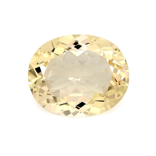 Peach Morganite Oval Faceted 2.85 Carats 11X9 mm GSCPEMO147
