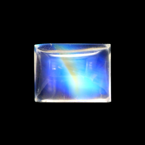Rainbow Moonstone  Baguette Cabochon  5.00 Carats 11X8 mm GSCRMO110