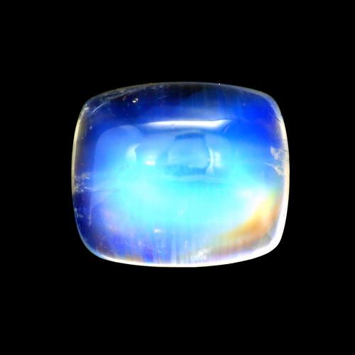Rainbow Moonstone  Cushion Cabochon  4.92 Carats 11X9 mm GSCRMO112
