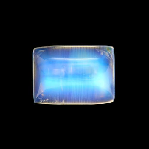 Rainbow Moonstone Cushion Cabochon 4.53 Carats 8X11 mm GSCRMO134