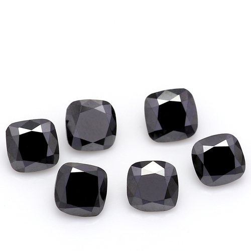 Natural Cushion Black Diamond 4 mm GSCNBD002
