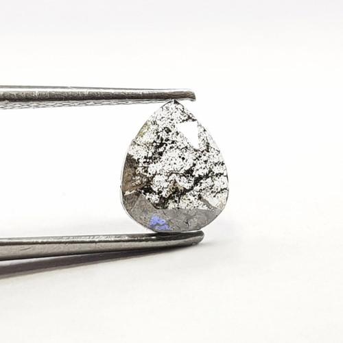 Salt and pepper Diamond Pear  GSCSPD001