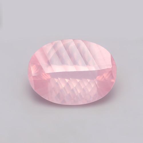 Rose Quartz Concave cut 15X20X10.38 mm 16.57 Carats GSCRQ005