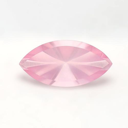 Rose Quartz  Marquise Concave cut 21X24 mm 11.83 Carats GSCRQ019