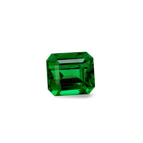 Emerald Octagon Cut Faceted  9.5X10.5 mm 5.65 Carats   GSCEM0018
