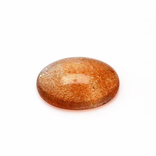 Sunstone Oval Cabochon 13X18 mm 8.81 Carats GSCSUN008