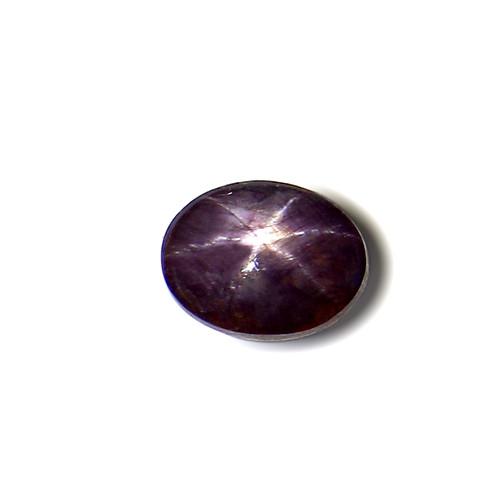 Star Ruby Oval Cabochon 10X13 mm 9.73 Carat GSCSR003
