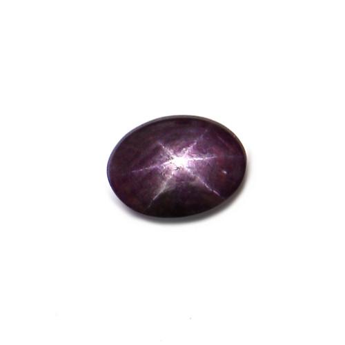 Star Ruby Oval Cabochon 10X13 mm 5.54 Carat GSCSR010
