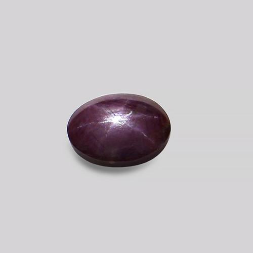 Star Ruby Oval Cabochon 10X13 mm 6.05 Carat GSCSR011