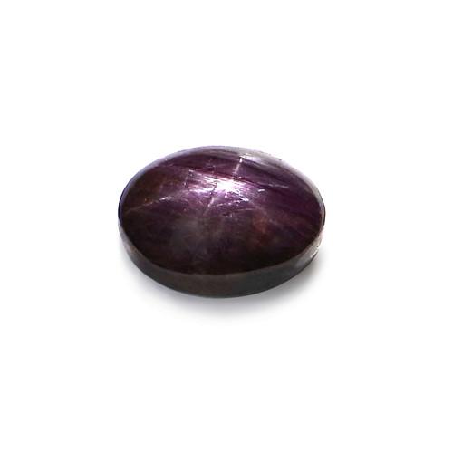 Star Ruby Oval Cabochon 10X13 mm 10.11 Carat GSCSR012