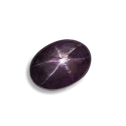 Star Ruby Oval Cabochon 13X18 mm 22.30 Carat GSCSR015