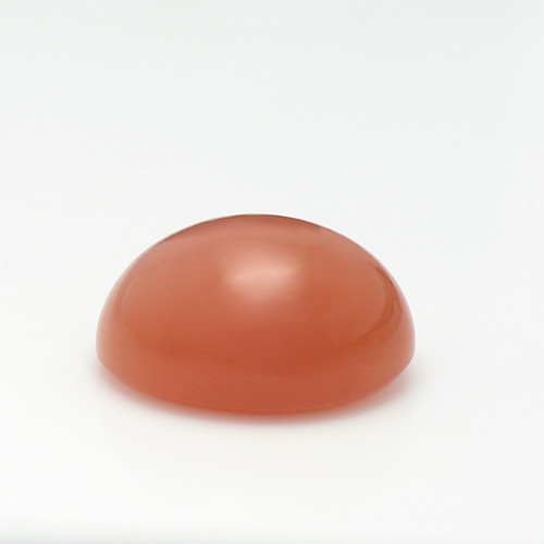 Peach Moonstone Oval Cabochon  15X20 mm  21.52 Carats GSCPM002