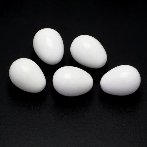 Cacholong  Eggs 12X16 mm 5 Piece 77.33 Carat GSCCL002