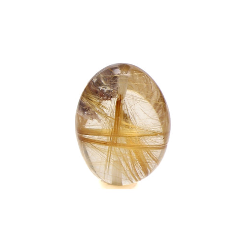 Rutile Quartz Egg 16X12 mm GSCRTQ001