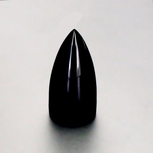 Black Onyx Highdom 10X10X20 mm 13.59 Carats GSCBON003