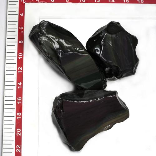 Obsidian Rainbow Rough 10 Kg GSCOBR001