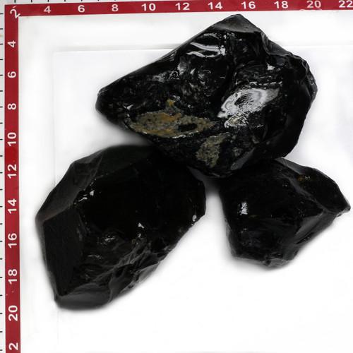 Obsidian Black Rough 10Kg GSCOBB001