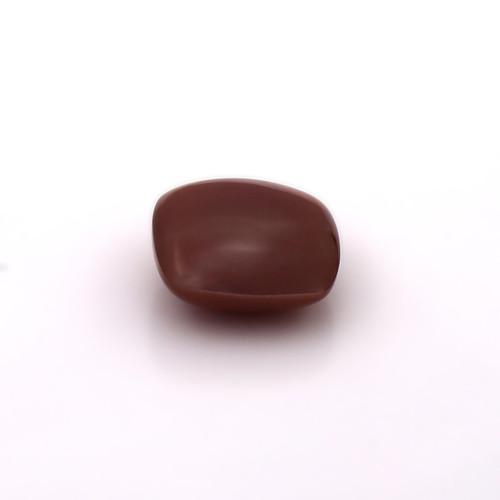 Chocolate Moonstone Cushion Cabochon 14X14 mm 10.15 Carats GSCCM0020
