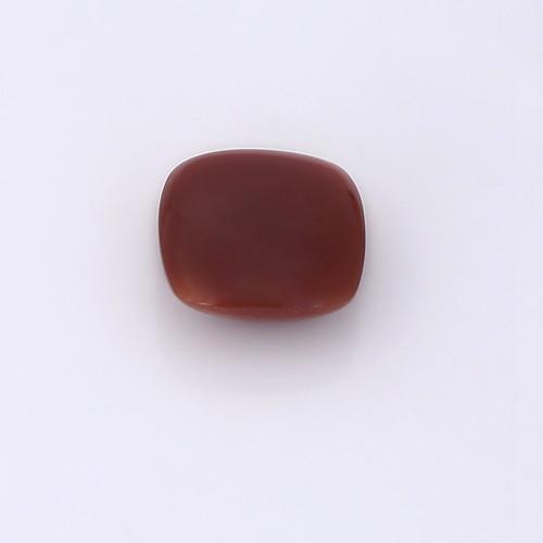 Chocolate Moonstone Cushion Cabochon 14X14 mm 10.45 Carats GSCCM0021