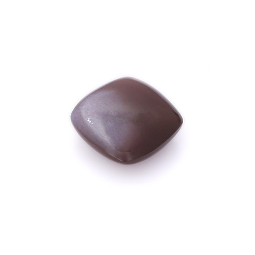 Chocolate Moonstone Cushion Cabochon 14X14 mm 10.51 Carats GSCCM0022