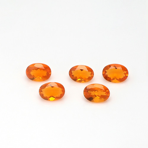 Fire Opal 6X8 mm 5 Piece DSCFO009