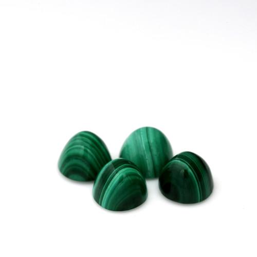 Malachite Highdom 6X6 mm 4 Piece 6.30 Carats GSCMC001