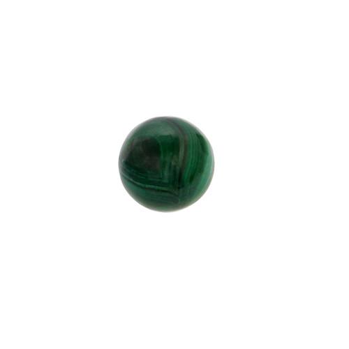Malachite Round Beads 11X11 mm  13.60 Carats GSCMC002