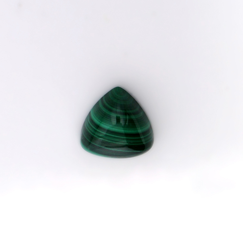 Malachite Trillion Cabochon 12X12 mm 9.75 Carats GSCMC005
