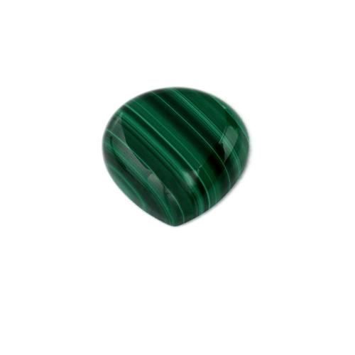 Malachite Heart Cabochon 20X20 mm 33.54 Carats GSCMC006
