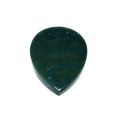 Blood Stone Pear 30X40 mm 88.61 Carats GSCBLS002